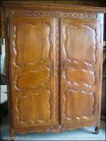 armoire bressane louis xv antiquites en france. Black Bedroom Furniture Sets. Home Design Ideas
