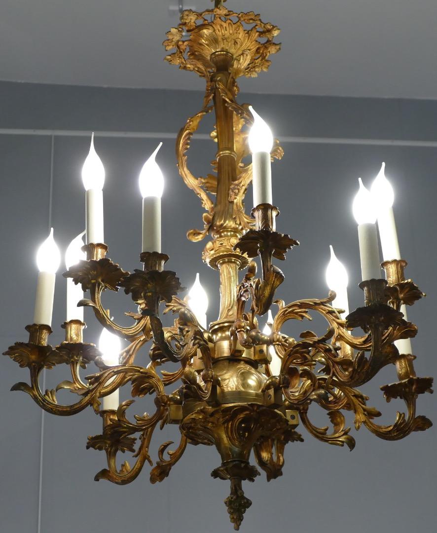 Recherche Lustre De Style Hollandais En Bronze Dore Antiquites
