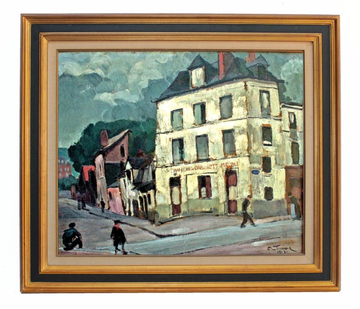 Peintres Ecole De Rouen recherche : pierre le trividic 1930 peinture ecole de rouen