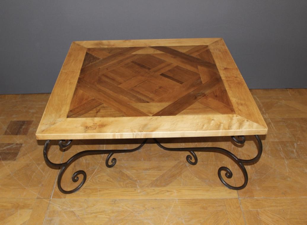 Recherche parquet de versailles ancien antiquites en - Table basse louis xiv ...