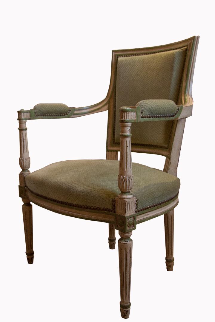 fauteuil de bureau style directoire antiquites en france. Black Bedroom Furniture Sets. Home Design Ideas