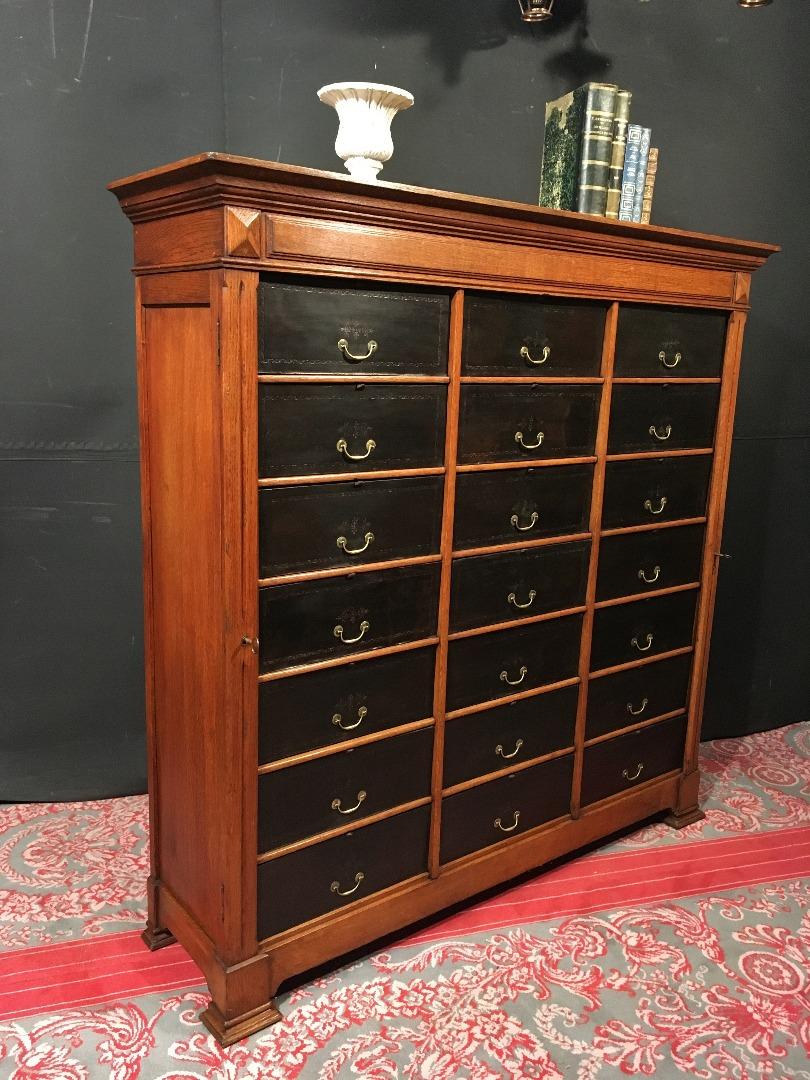 Recherche meuble metier classeur a rideaux antiquites en france - Meubles provencaux anciens ...