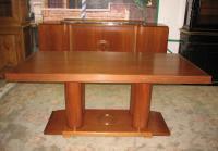 Table salle a manger ebene de macassar art deco for Salle a manger 1950
