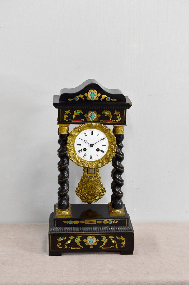 Pendule Napoleon Iii Japy Fils Xixeme Antiquites Lecomte