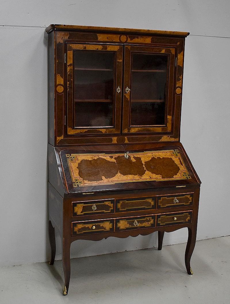 scriban hollandais en marqueterie antiquites en france. Black Bedroom Furniture Sets. Home Design Ideas