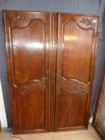 armoire dressing trois portes xviiie antiquites en france. Black Bedroom Furniture Sets. Home Design Ideas