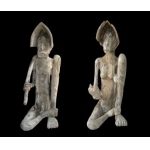 Couple de statues Asmat