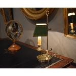Lampe bougeoir en bronze