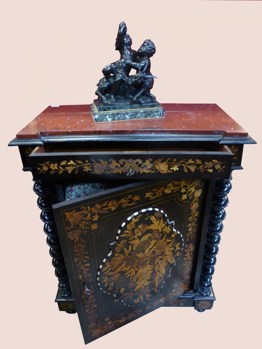 Buffet meuble d 39 appui marquet napol on iii philippe cote for Meuble napoleon 3