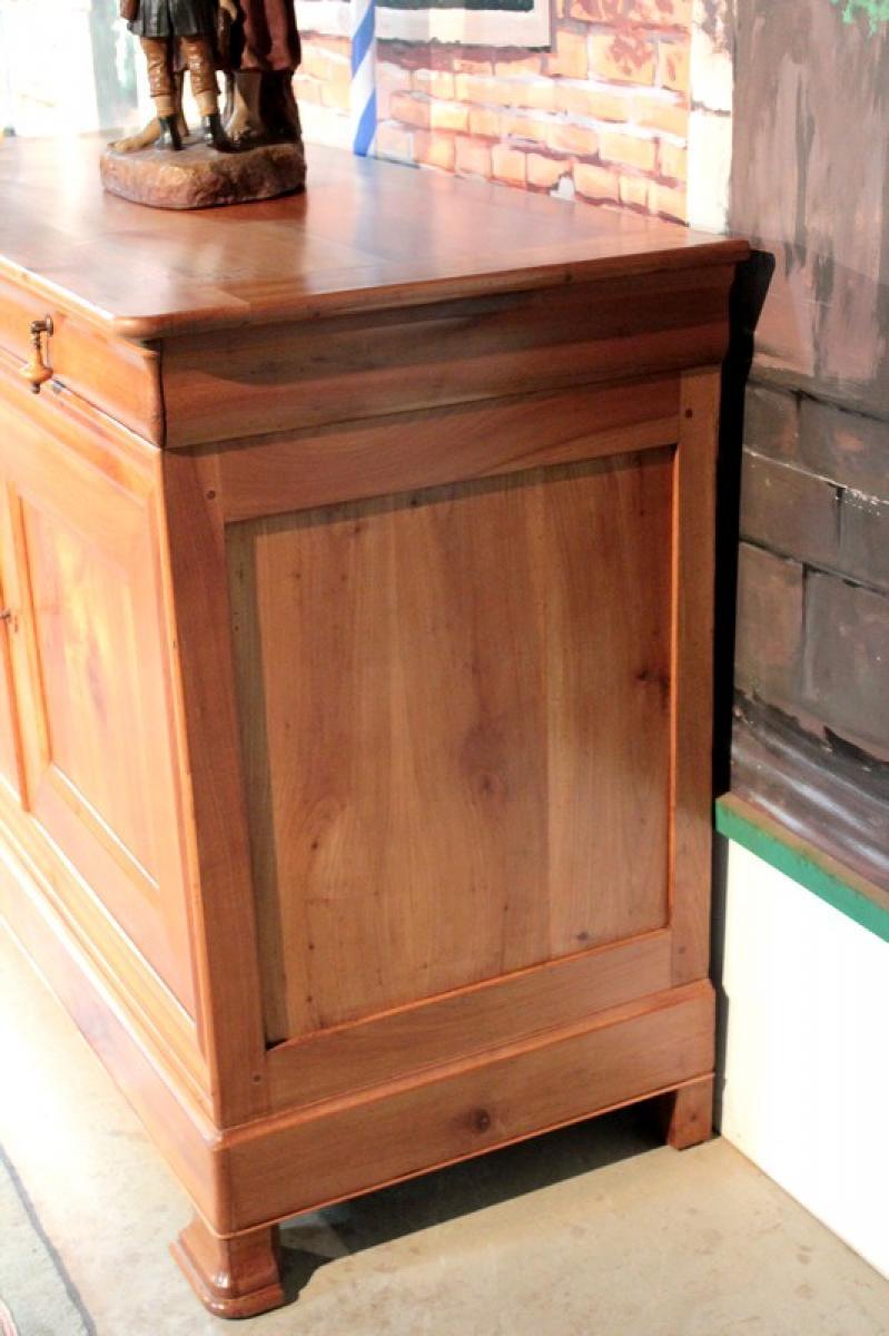buffet louis philippe en merisier xixeme antiquites lecomte. Black Bedroom Furniture Sets. Home Design Ideas