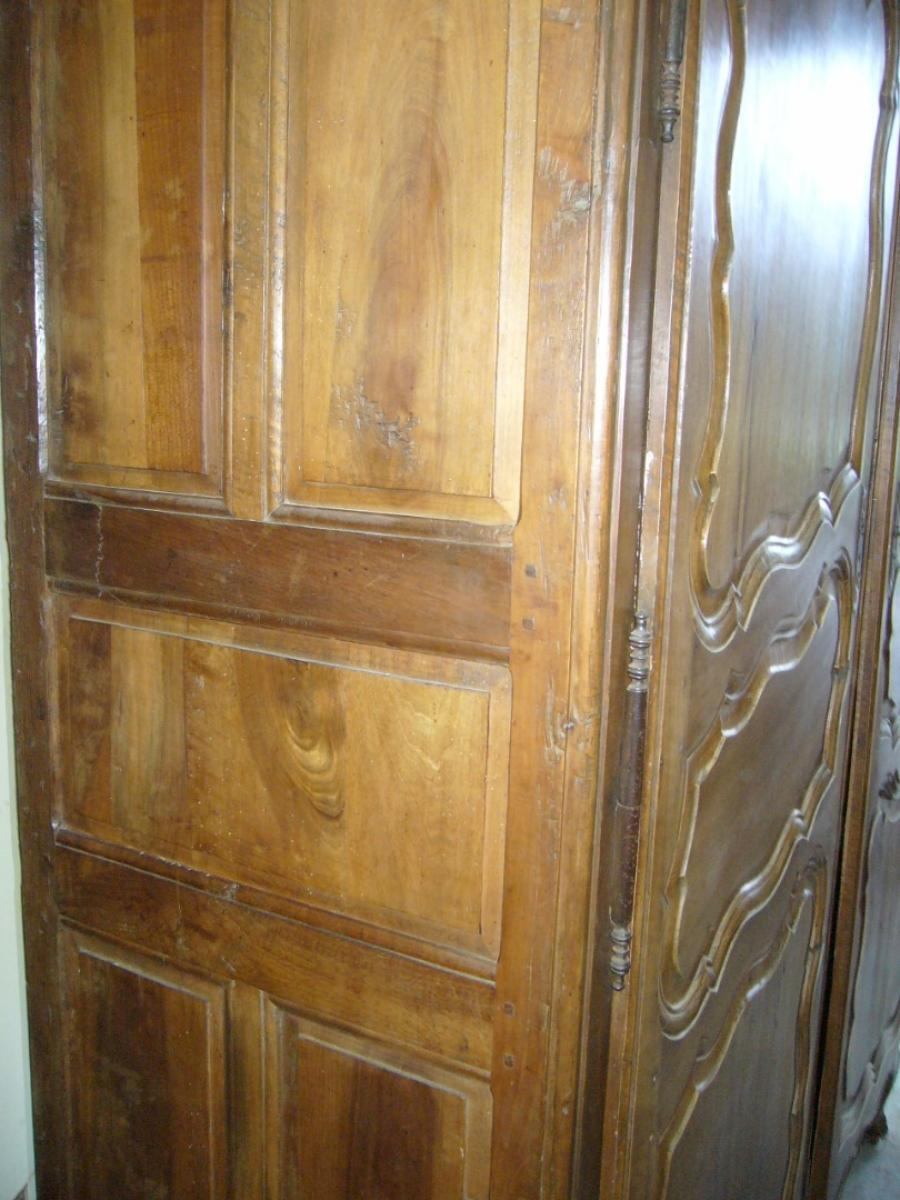 ancienne armoire louis xv antiquites aubry. Black Bedroom Furniture Sets. Home Design Ideas