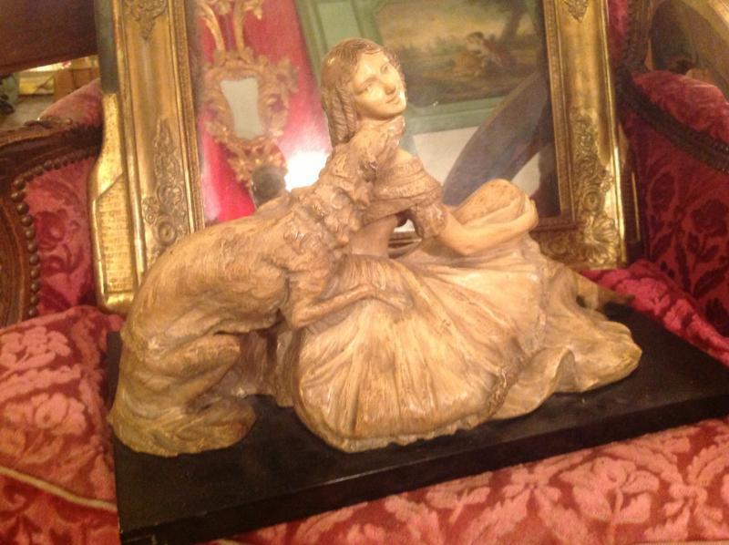 Objet de d coration 19 me si cle antiquites en france for Decoration 19eme siecle