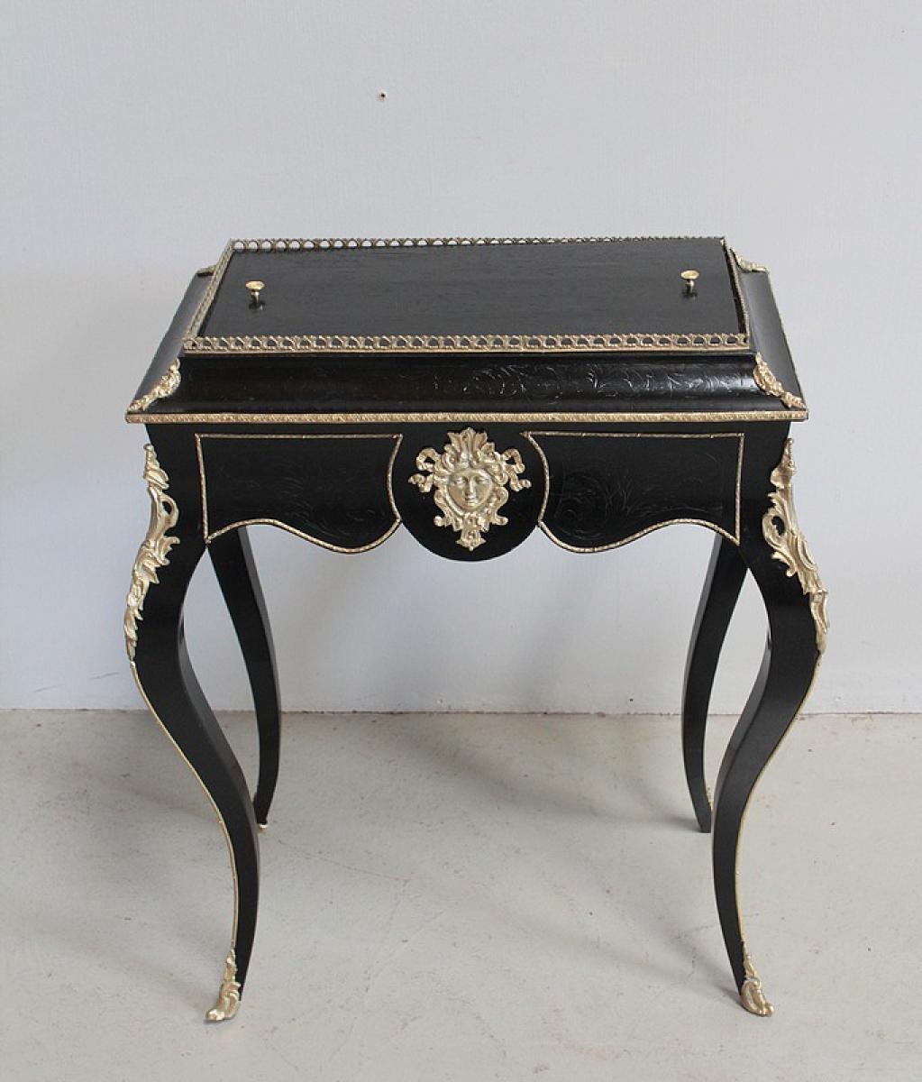 jardini re nap iii de style louis xv antiquites lecomte. Black Bedroom Furniture Sets. Home Design Ideas
