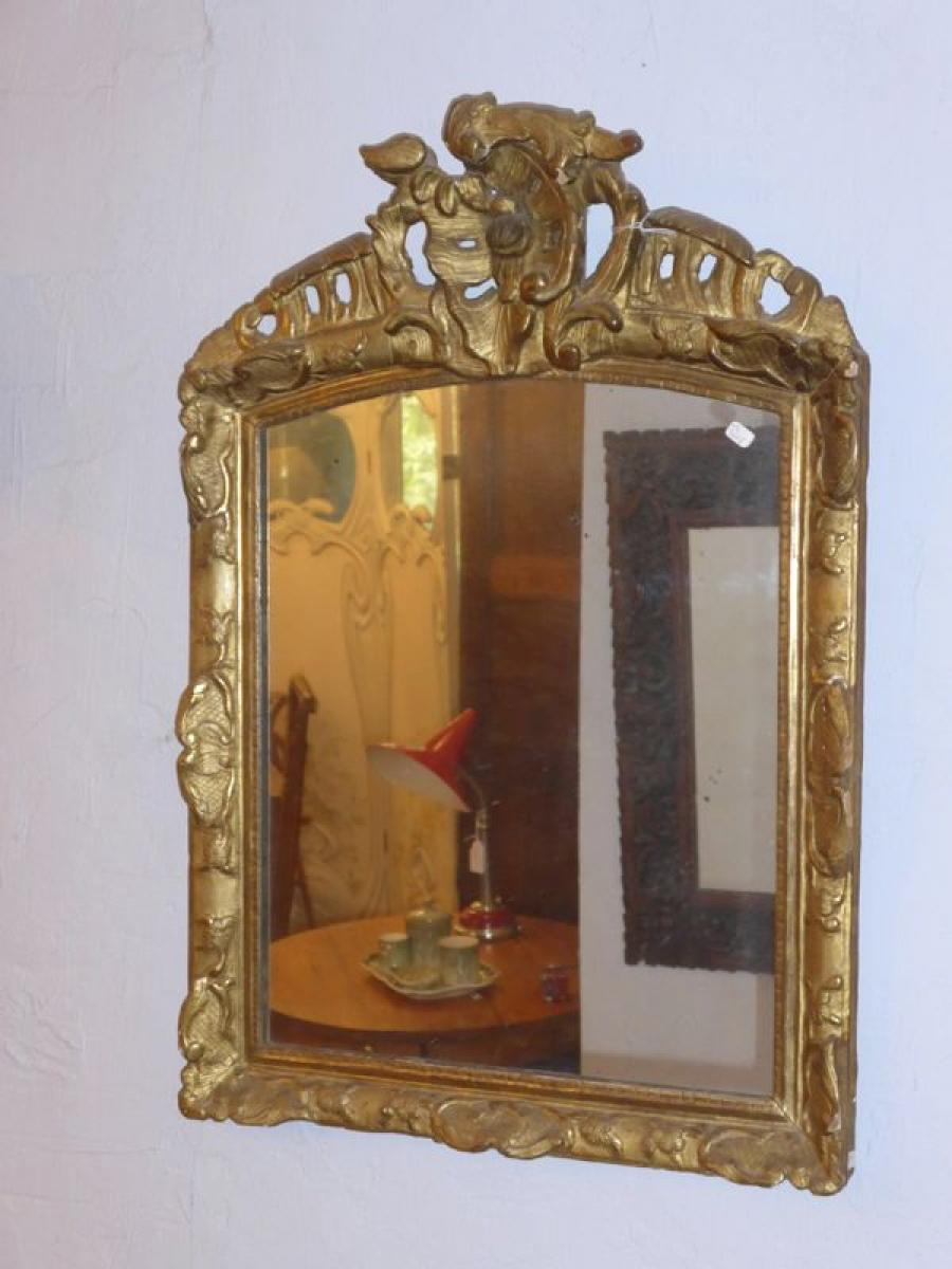 Miroirs anciens 18 me si cle antiquites en france for Decoration 18eme siecle