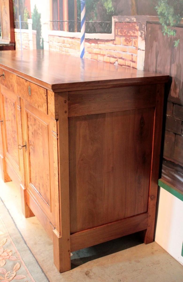 enfilade directoire en merisier et loupe d 39 orme xviiie antiquites. Black Bedroom Furniture Sets. Home Design Ideas