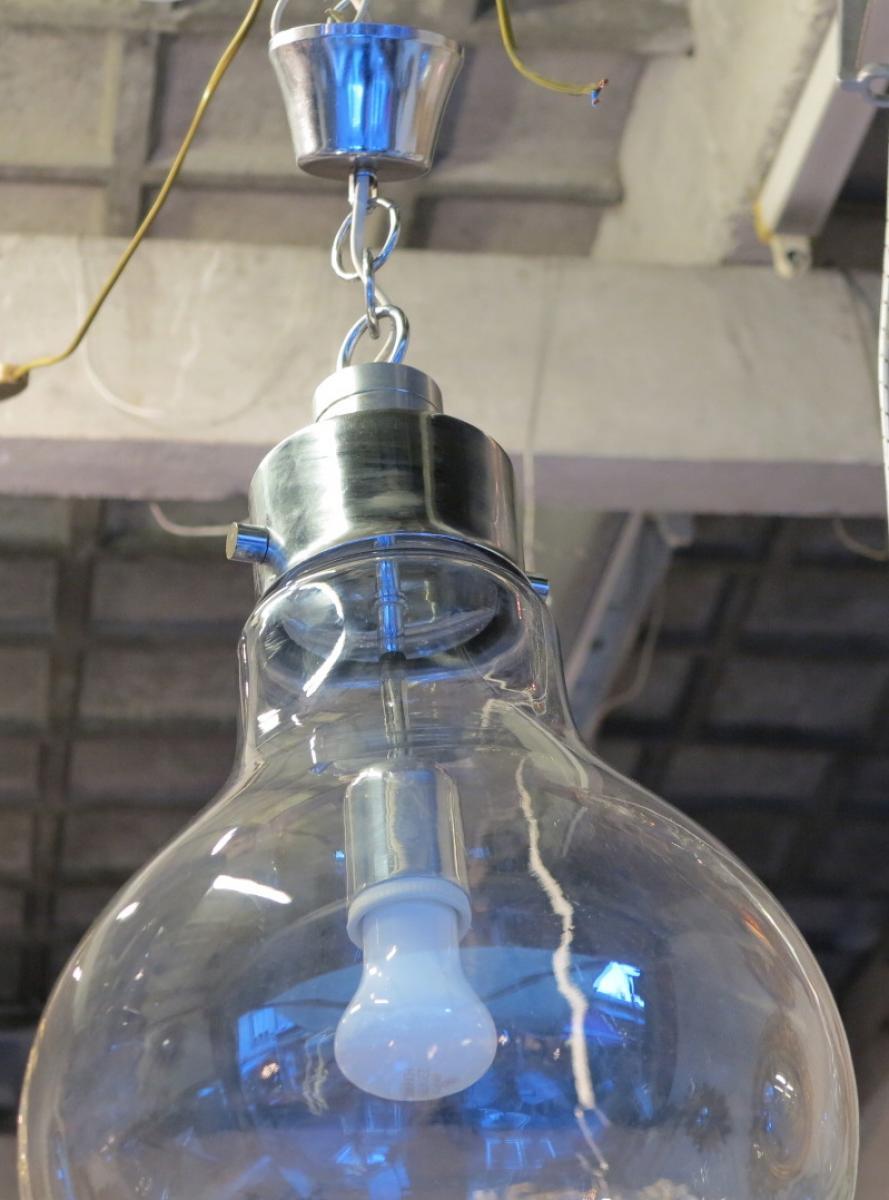 Lustre 70 forme ampoule a abc pascal - Lustre forme ampoule ...