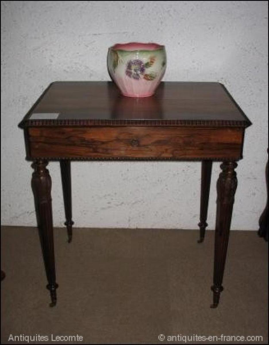 Tables 19 me si cle antiquites en france page 12 - Table a repasser sans pied ...