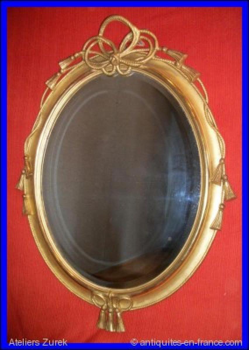 Miroir louis philippe r f 410 ateliers zurek for Miroir napoleon