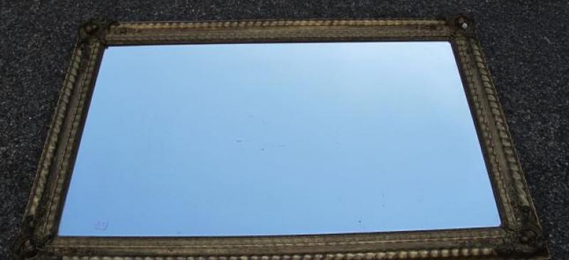 Miroir au mercure restauration a vagues a abc pascal for Restauration miroir ancien
