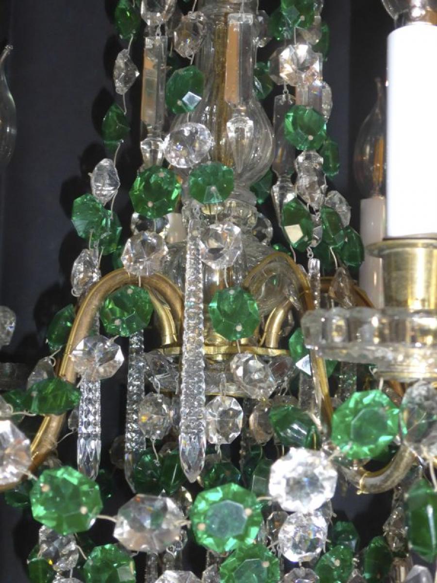 lustre a pampilles baccarat xixe la boutique opio proche de. Black Bedroom Furniture Sets. Home Design Ideas