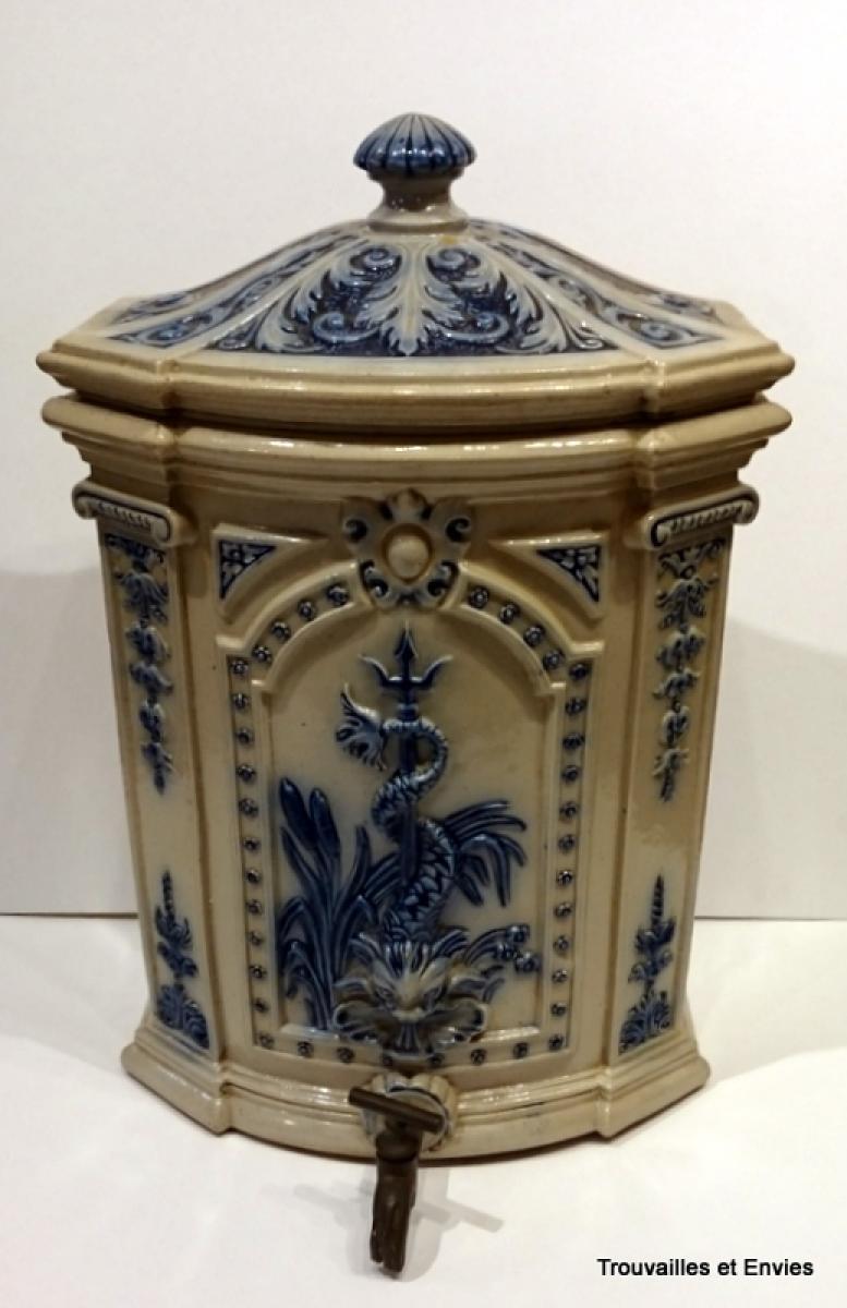 Bol à Bouillon En Porcelaine De Sèvres, XXème