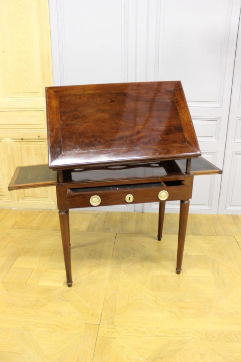 table d 39 architecte d 39 poque directoire antiquit s christophe. Black Bedroom Furniture Sets. Home Design Ideas