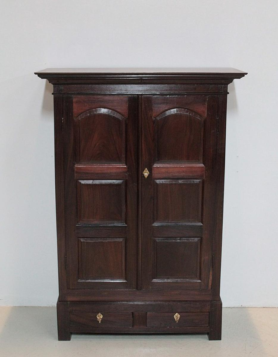 armoire epices en palissandre inde xixe antiquites lecomte. Black Bedroom Furniture Sets. Home Design Ideas