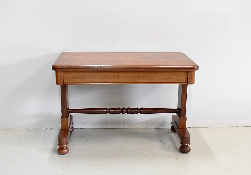 Table-Bureau en Noyer Epoque 1920