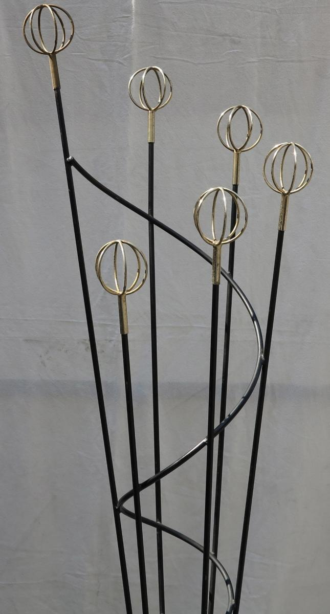 porte manteaux geo astrolabe de roger feraud 1950 a abc pascal. Black Bedroom Furniture Sets. Home Design Ideas