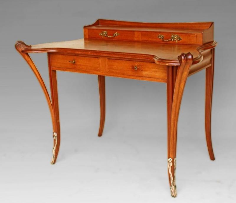 bureau majorelle art nouveau 1900 ecole de nancy galerie. Black Bedroom Furniture Sets. Home Design Ideas