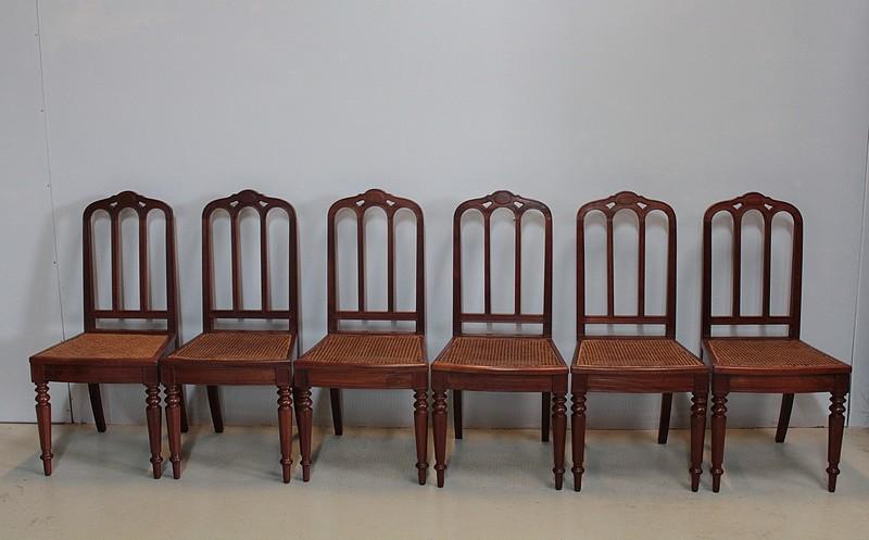 chaises louis philippe antiquites en france. Black Bedroom Furniture Sets. Home Design Ideas