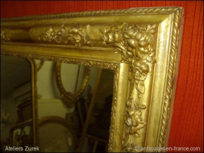 miroir poque restauration r f 412 ateliers zurek. Black Bedroom Furniture Sets. Home Design Ideas