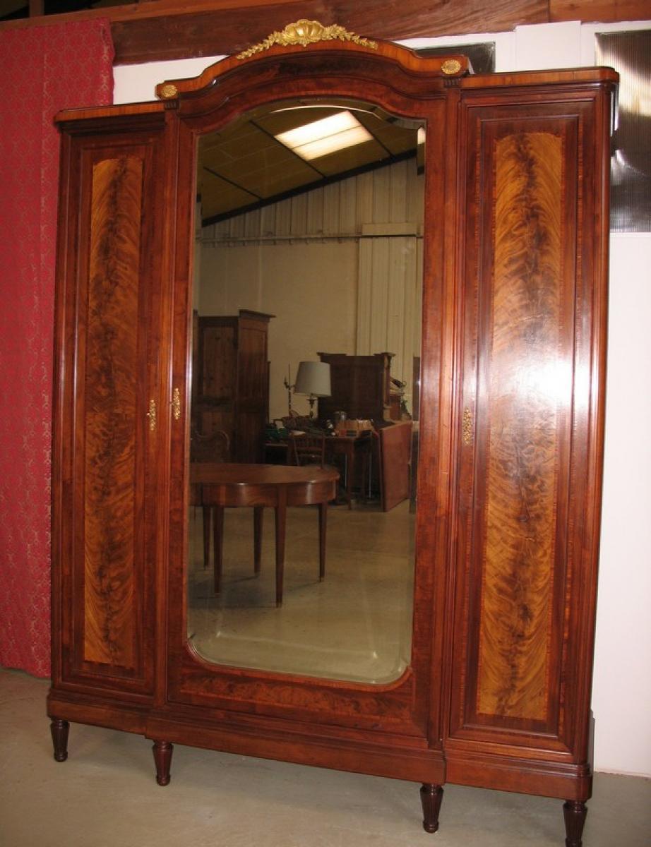 chambre louis xvi 1920 antiquites lecomte. Black Bedroom Furniture Sets. Home Design Ideas