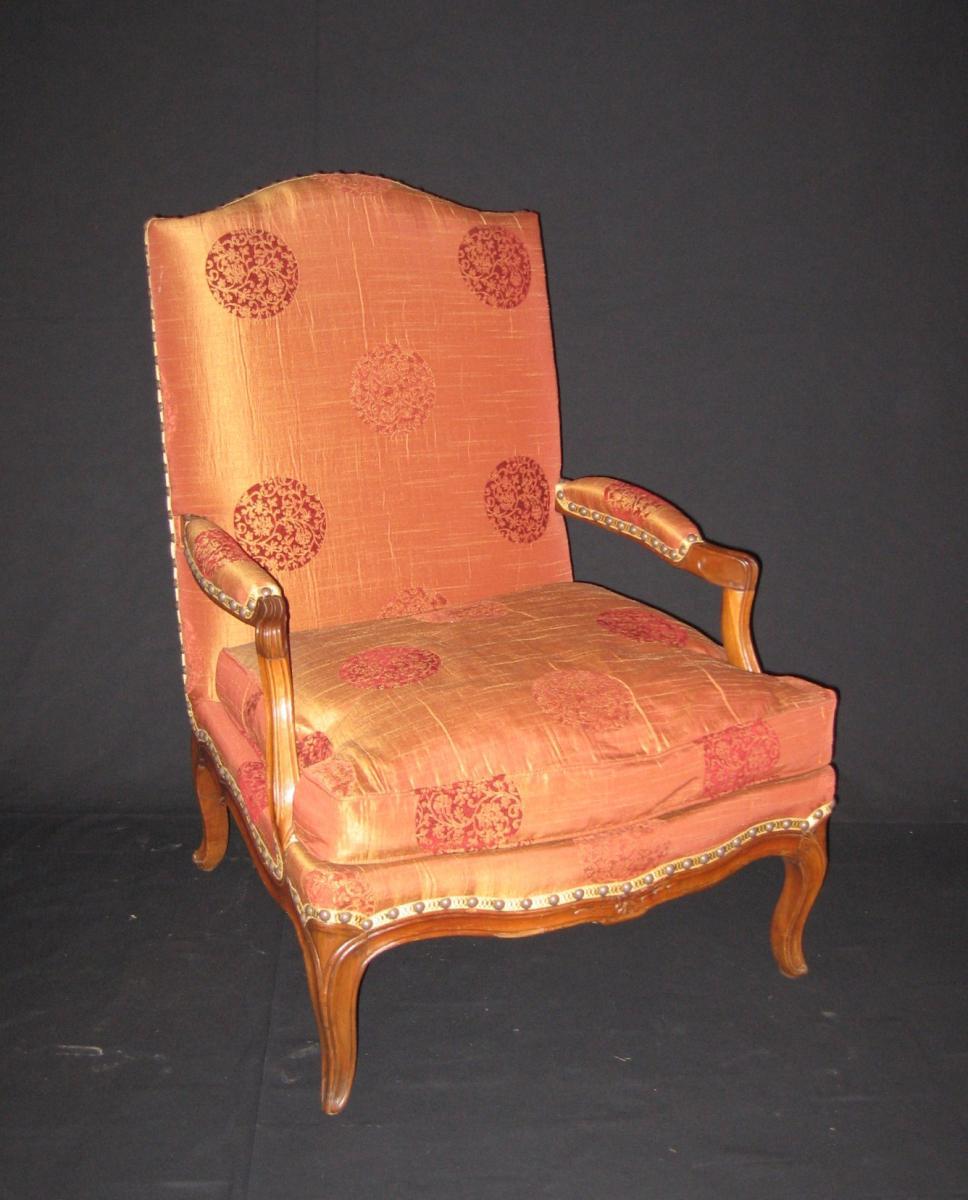 paire de fauteuils coin de feu d 39 poque louis xv anne besnard. Black Bedroom Furniture Sets. Home Design Ideas