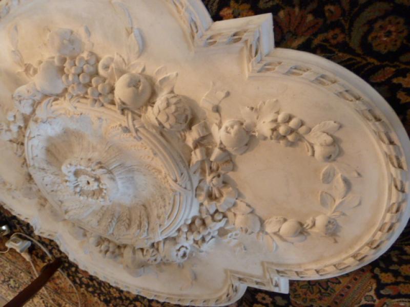 Ancienne rosace de plafond art nouveau antiquites - Rosace de plafond ...