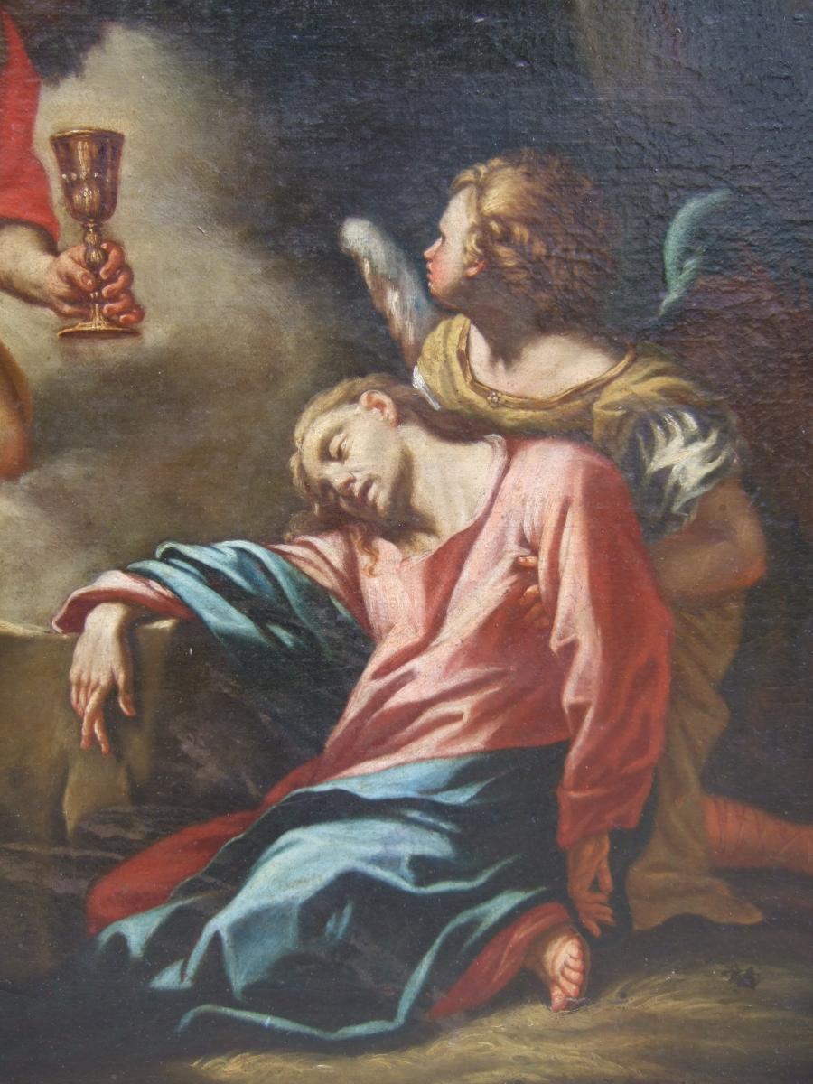 Le christ au jardin des oliviers d 39 apr s francesco for Au jardin des oliviers
