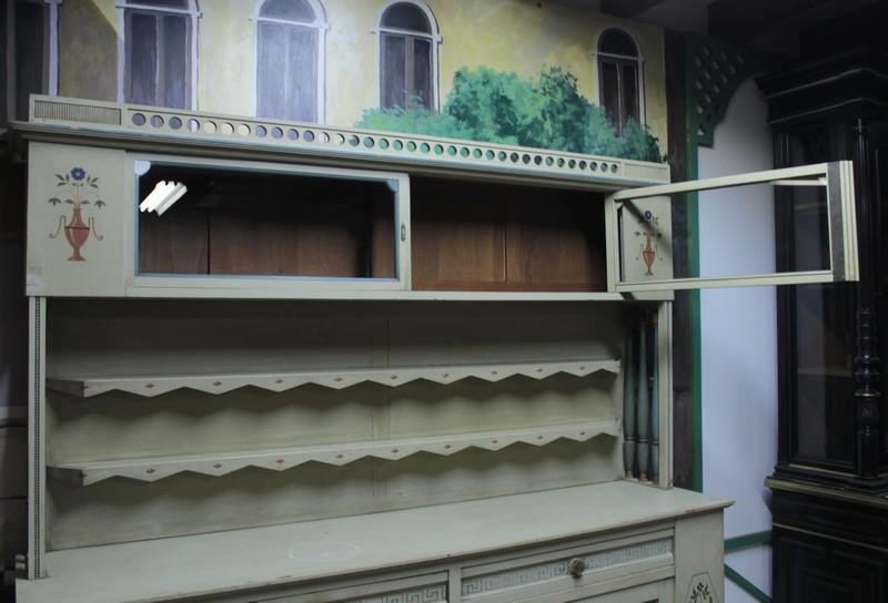 salle 224 manger peinte xxeme antiquites lecomte