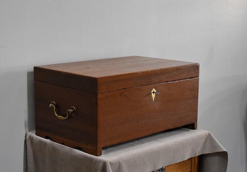 coffre d criture de marine xx me antiquites lecomte. Black Bedroom Furniture Sets. Home Design Ideas