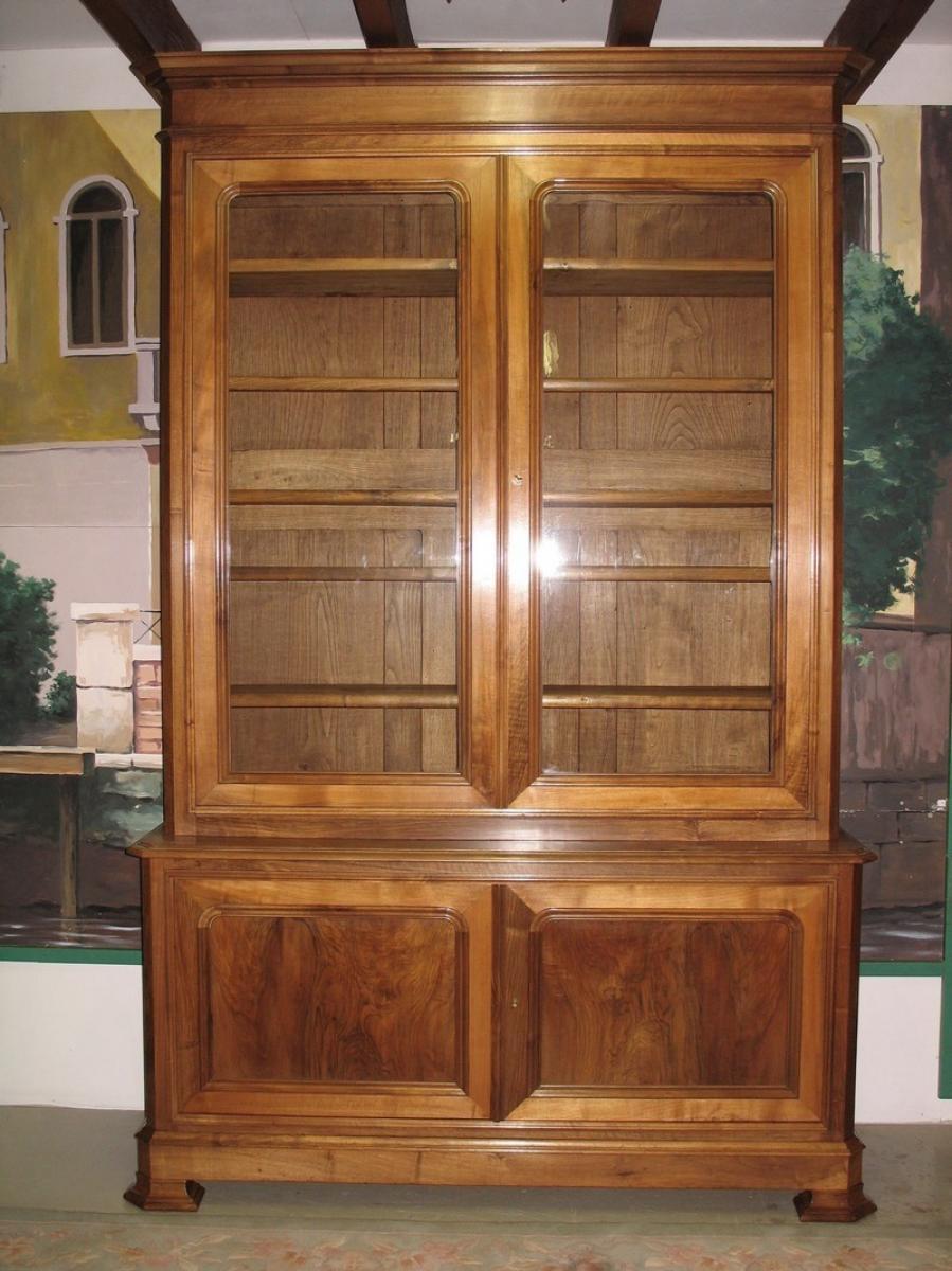meubles deux corps antiquites en france. Black Bedroom Furniture Sets. Home Design Ideas