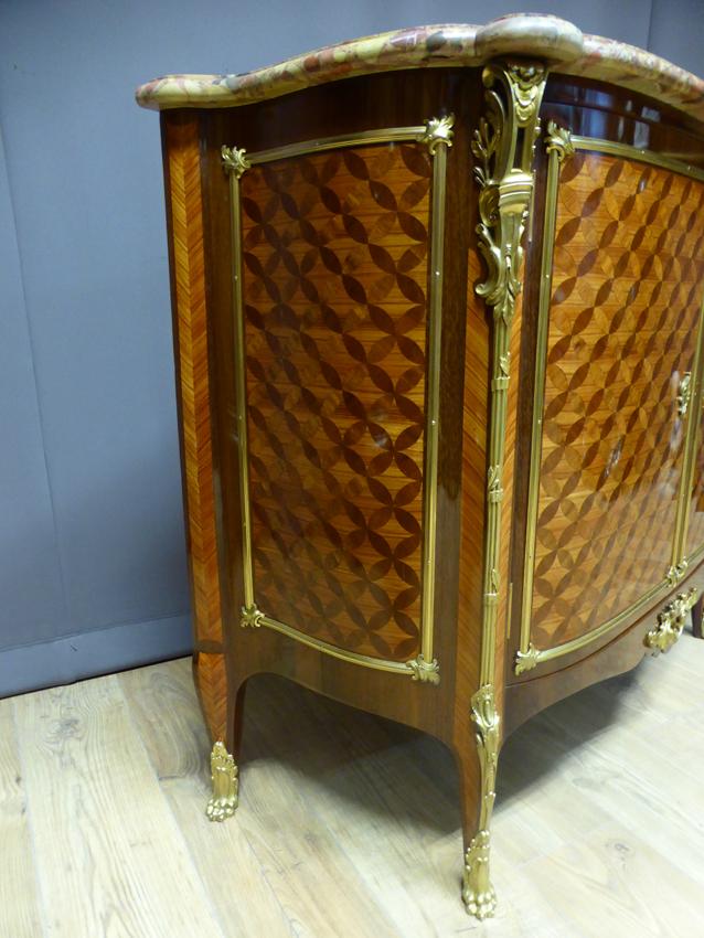 buffet napol on iii en marqueterie estampill escalier de cristal. Black Bedroom Furniture Sets. Home Design Ideas