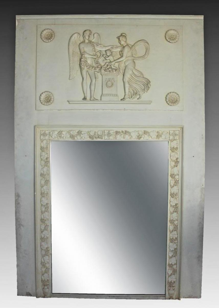 Miroirs anciens 19 me si cle antiquites en france page 7 for Miroir 19eme siecle
