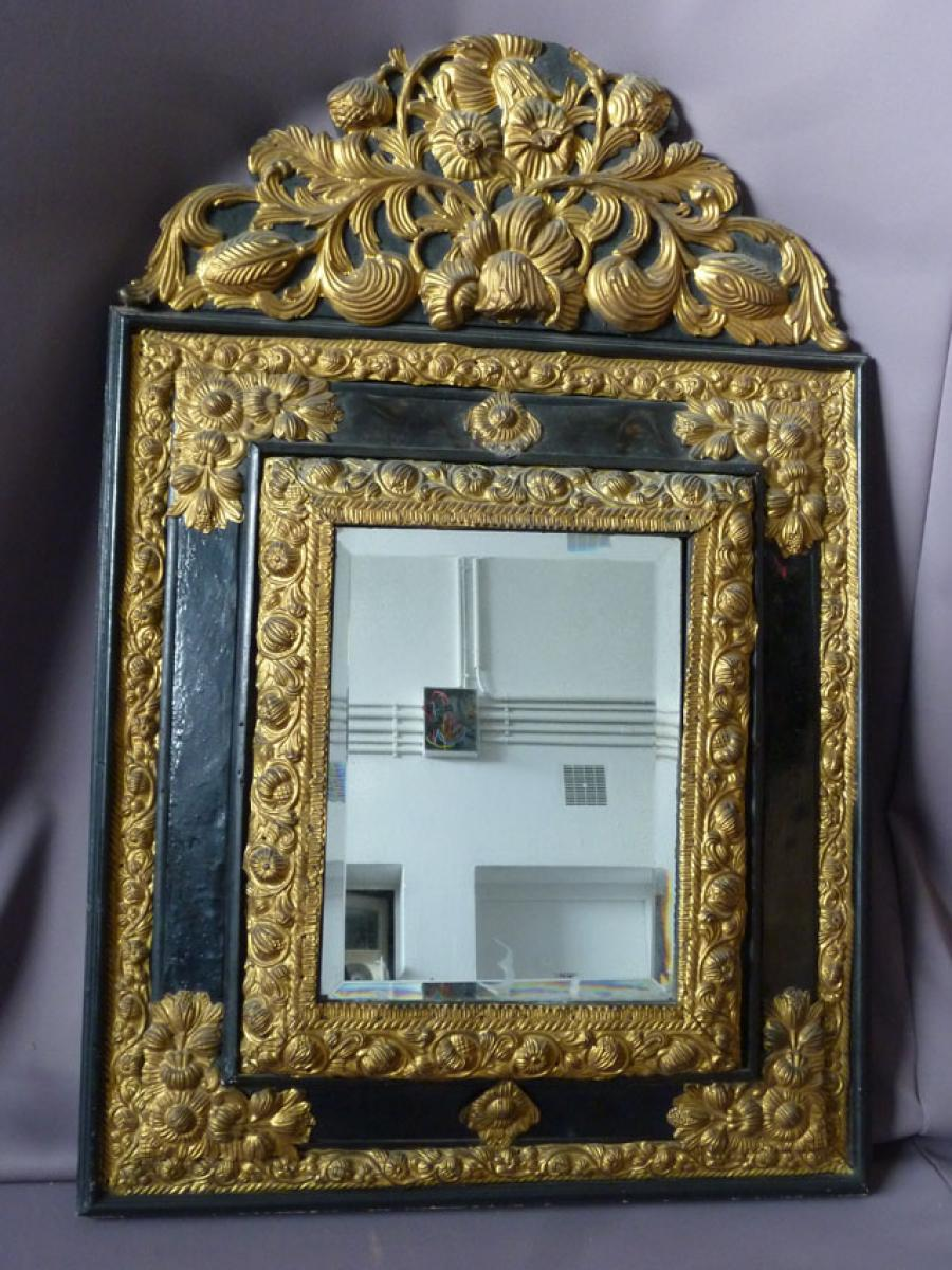 Miroir style louis xiii philippe cote antiquites for Miroir louis xiii