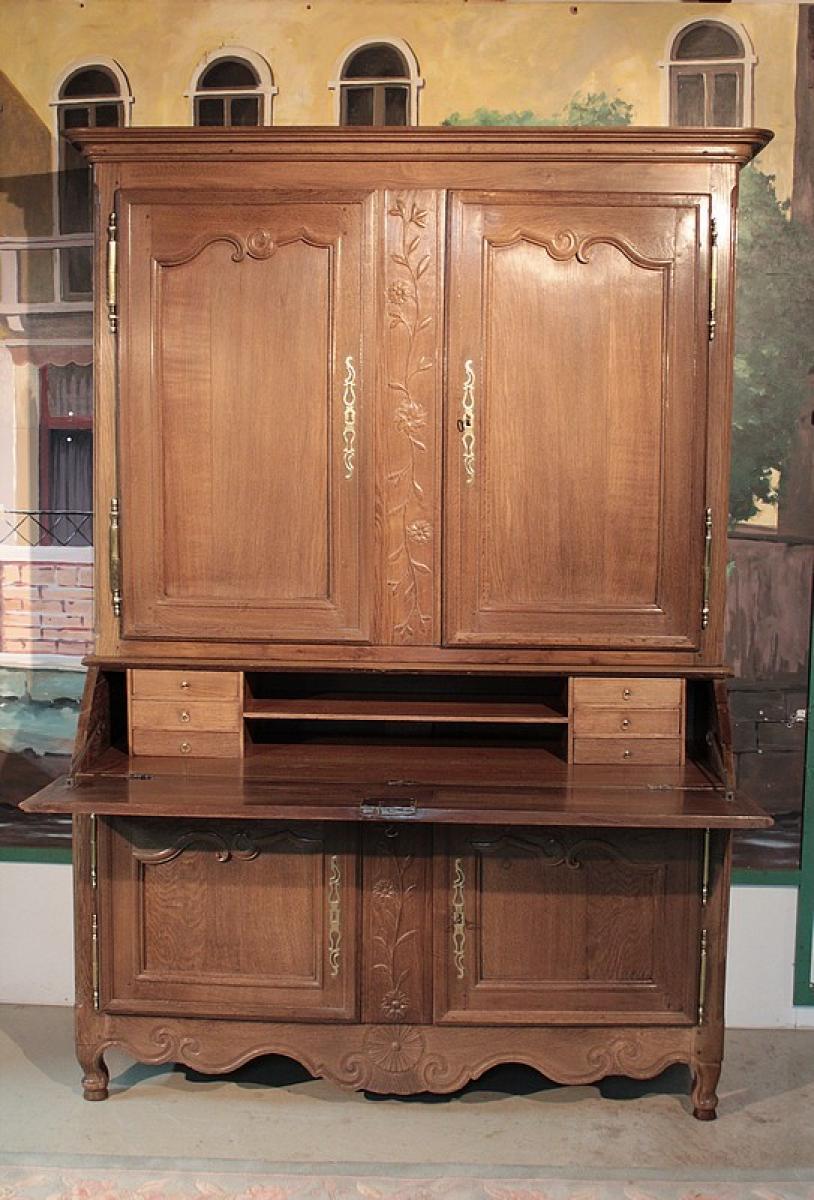 meubles de d coration 18 me si cle antiquites en france page 2. Black Bedroom Furniture Sets. Home Design Ideas