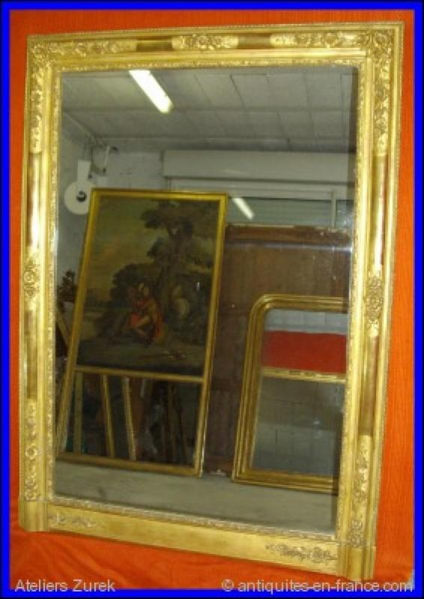 Miroirs anciens restauration antiquites en france for Restauration miroir