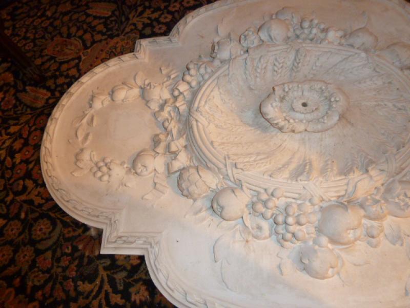 Ancienne rosace de plafond art nouveau antiquites for Rosace de plafond