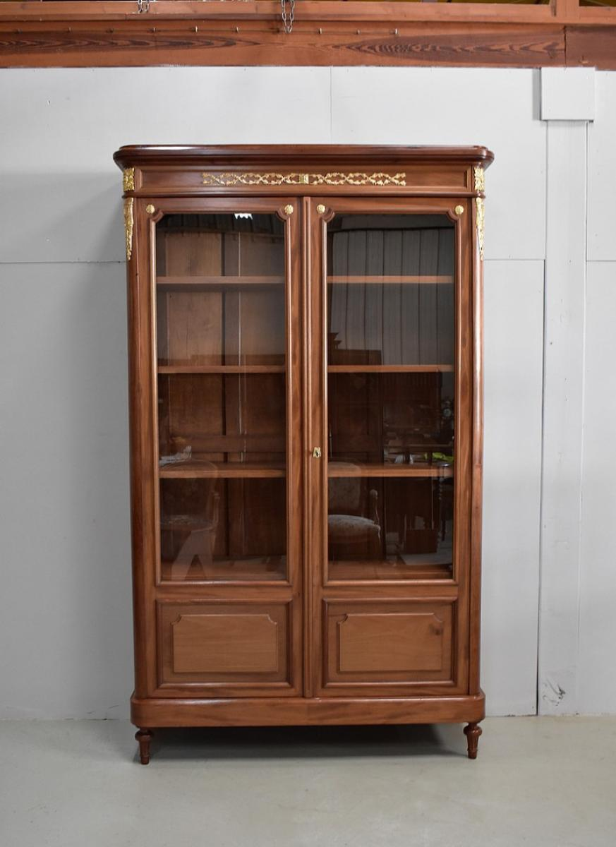 biblioth que style louis xvi xx me antiquites lecomte. Black Bedroom Furniture Sets. Home Design Ideas