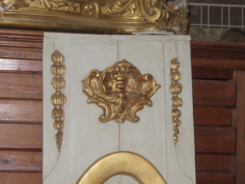 Bois dor et peint avec personnages poque 18 me sarl cave for Decoration 18eme siecle