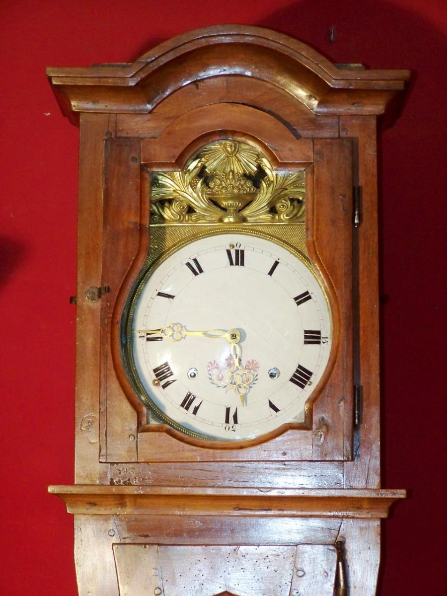 horloge de parquet bressane 19 me l 39 atelier de la dorure. Black Bedroom Furniture Sets. Home Design Ideas