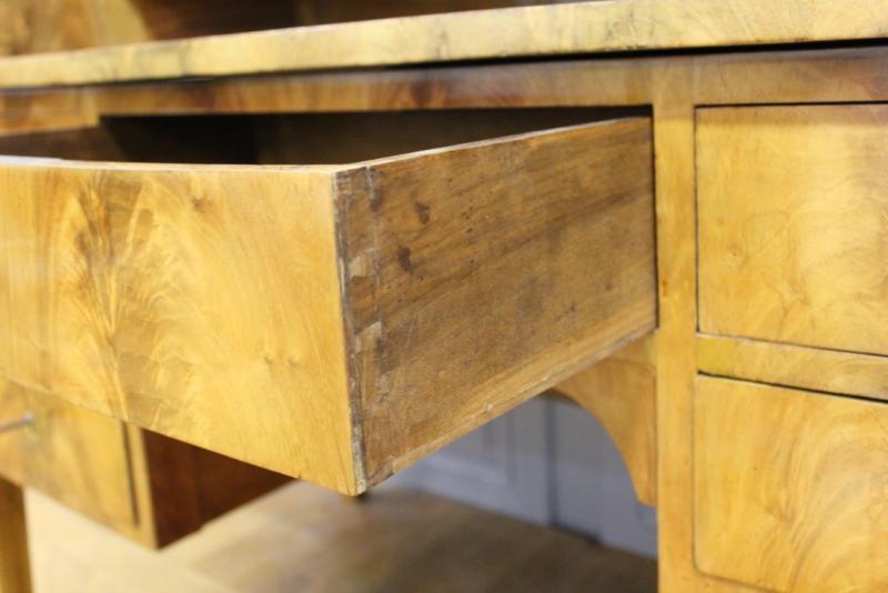 bureau cylindre d 39 poque restauration antiquit s christophe. Black Bedroom Furniture Sets. Home Design Ideas