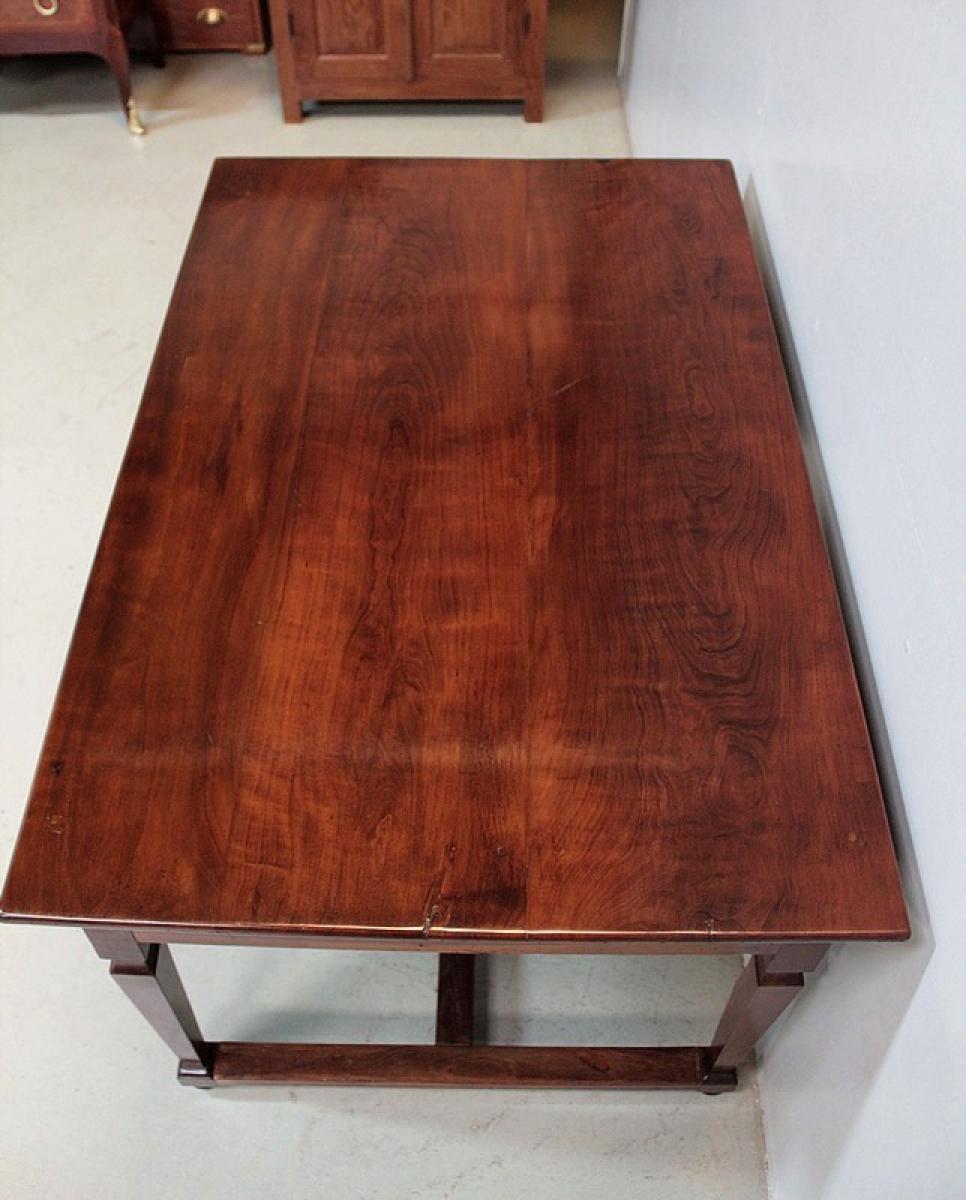 bureau en acacia xixe antiquites lecomte. Black Bedroom Furniture Sets. Home Design Ideas